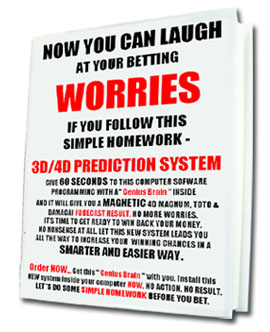 3d/4d number prediction system