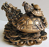 feng shui win 4d - dragon head tortoise