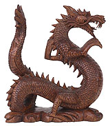 feng shui win 4d - dragon statues